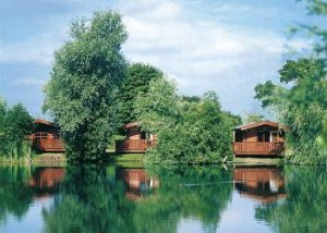 Woodlakes lodges near Downham, Norfolk